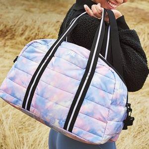 Victoria's Secret PINK Tie Dye Duffle Bag Tote💙💖